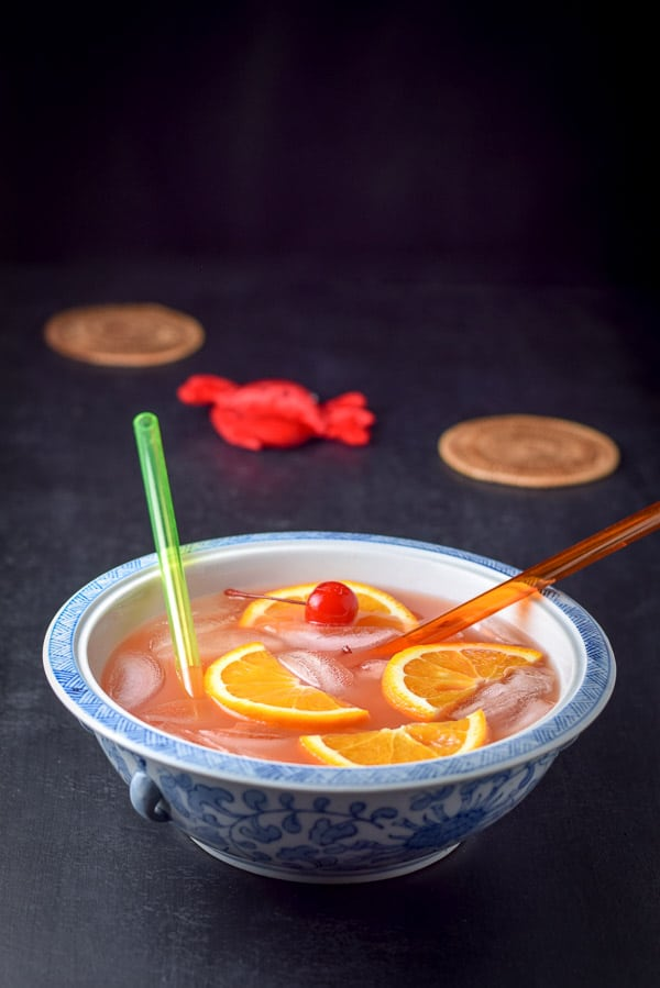 Bowl of scorpion bowl recipe