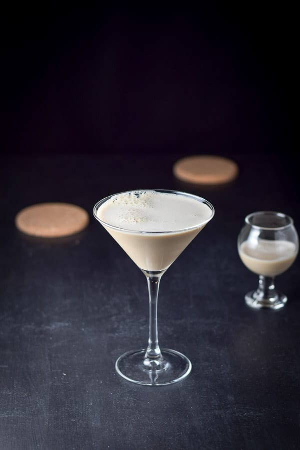 you're gonna hate me chocolate martini shaken and poured out