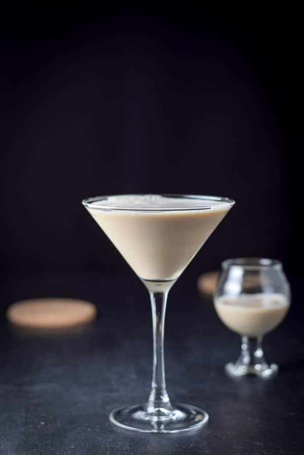 Vertical shot for the you're gonna hate me chocolate martini