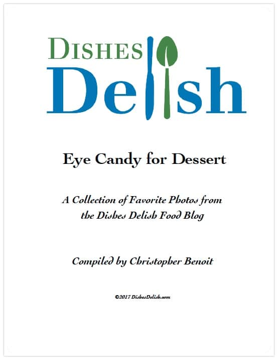 Eye Candy for Dessert cover page